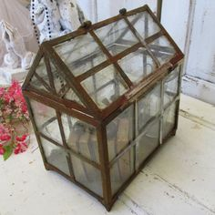 Large display showcase observation box rusty by AnitaSperoDesign, $170.00