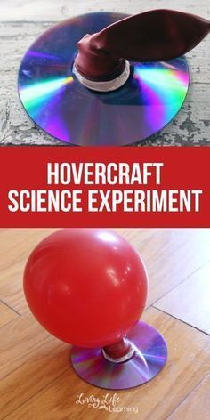 Hovercraft Science Experiment You need to try this with your kids, it will be a hit. My kiddos are always asking for hands on science activities, even if it's one we have done over and over like this Hovercraft Science experiment project. Science Projects For Kids, Easy Science Experiments, Science Activities For Kids, Science Classroom, Teaching Science, Science Diy, Physical Science, Kindergarten Science Experiments, Earth Science