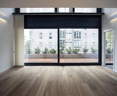 Design created by todvia in neybers Moduler Kitchen, Casa Anime, Dream House Interior, Empty Room, Big Windows, Window View, Dream Apartment, Modern Bedroom, Window Treatments