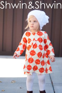 The Carolina Dress || Free PDF Pattern || Shwin&Shwin
