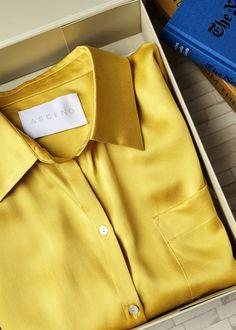 Moroccan Sun Silk Pyjama Top ba86511db