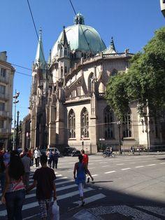 Catedral vista do fundo