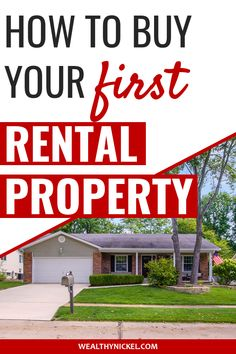 This is the story of how we bought our very first rental property and all the mistakes we made along the way. Learn from our beginner real estate investing mistakes and see how we make money with this solid cash-flowing property to this day! Buying A Rental Property, Income Property, Buying Investment Property, Investment House, Real Estate Rentals, Real Estate Tips, Real Estate Investor, Real Estate Marketing, Getting Into Real Estate