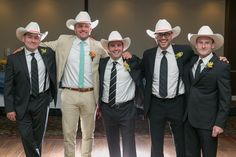 Stetsons anyone?  - Weddings often re-unite old families and friends that you have not seen in a while. Sometimes, weddings include the same people you have spent most of your Saturdays with since childhood. I think the total number of years of friendship for this groom and his boys was close to 150... - http://ajenns.com/wedding-photography/stetsons-anyone/