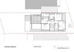 Waverley Residence by Anderson Architecture _ second floor plan