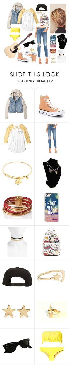 """""""Jamie's daily outfit n°2"""" by alexishambleton on Polyvore featuring mode, Hollister Co., Lovers + Friends, Chrysalis, L.K.Bennett, Casetify, BP., Anya Hindmarch, Roark et Ariel Gordon"""