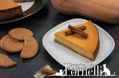 Creamy variation of #cheesecake, perfumed with #pumpkin and #cinnamon - Fratelli ai Fornelli