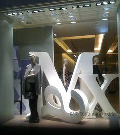 @Kelly Teske Goldsworthy Teske Goldsworthy McGinn  window display #london #retail #mypassion