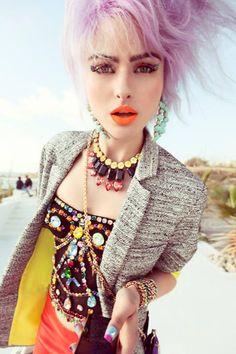 GOSSIP  Hair: Hester Wernert-Rijn / Photography: Petrovsky & Ramone / Make-up: Kathinka Gernant / Styling: Venus Waterman || I'M ILEENJA MARINA