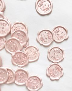 Wax Seals — Pink Champagne Designs: Wedding and Event Stationery Design Temple Wedding, Dream Wedding, Bohemian Wedding Rings, Communion, Beaux Desserts, Beach Wedding Invitations, Event Invitations, Seal Design, Wax Seal Stamp