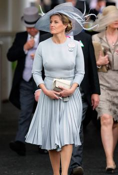 A look at Sophie Wessex's style transformation as she turns 50 - Royal Ascot 2012 Sophie Rhys Jones, Countess Wessex, Lady Louise Windsor, 30 Outfits, Royal Tiaras, Royal Ascot, Royal Fashion, Duchess Of Cambridge, Queen Elizabeth