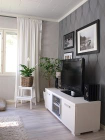 olohuoneen sisustus Flat Screen, Sweet Home, Blood Plasma, House Beautiful, Flatscreen, Dish Display