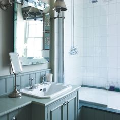 Bathroom   Decorating ideas from a London town house   Decorating inspiration   PHOTO GALLERY   Housetohome.co.uk