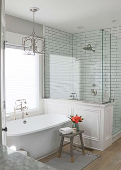 Gorgeous elegant bathroom remodel via Sincerely, Sara D.