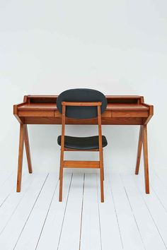 Danish Writing Desk and Chair