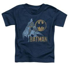 Batman - Knight Watch Short Sleeve Toddler Tee