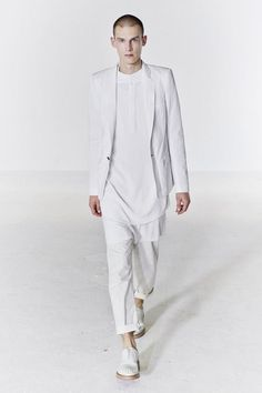 Hippolytus costume inspiration: white for purity. I like the blend of contemporary and classical