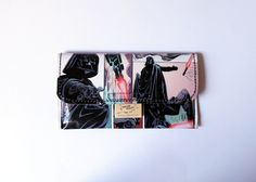 Tobacco pouch DARTH VADER Comic up-cycling unique piece from PauwPauw on Etsy