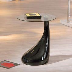 Rossini Black Gloss Lamp Table  £89.95