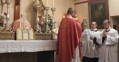 """The Fourth Sunday of Lent is commonly known as """"Laetare Sunday"""" after the words of the Introit of the Mass-  Laetare Jerusalem: et conventu..."""