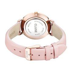 Quickjewels ♥ Cluse La Boheme Rose Gold White/Pink horloge CL18014 kopen? | Quickjewels.nl € 89.95 - Pastel Pink