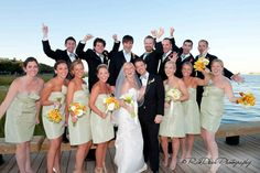 Leigh and J.P. Laskis - Wedding Party