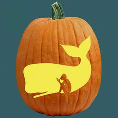 Pumpkin Carving Patterns and Stencils for your Fall Pumpkins - Jonah and the Whale