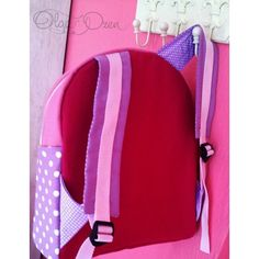 Gym girl application backpack. Unique design by Olga Ozen from Ukraine. Living at Sarigerme Mugla Turkey