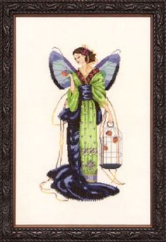 September Sapphire Fairy MD114 Mirabilia Chart New | eBay