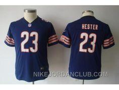 http://www.nikejordanclub.com/nike-youth-nfl-chicago-bears-23-hester-blue-jerseys-ngska.html NIKE YOUTH NFL CHICAGO BEARS #23 HESTER BLUE JERSEYS NGSKA Only $23.00 , Free Shipping!
