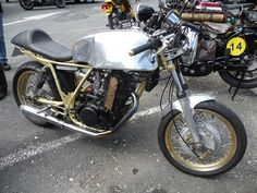 Yamaha 500 SR Café Racer by EasyriderFXDWG, via Flickr