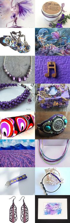 Purple Beware by Susan McAnany on Etsy--Pinned with TreasuryPin.com