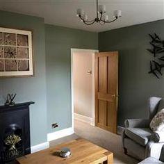 48 ideas for farmhouse livingroom paint colors farrow ball Hallway Colours, Room Wall Colors, Paint Colors For Living Room, Wall Colours, Farrow Ball, Front Room Decor, Front Rooms, Farrow And Ball Living Room, Living Rooms