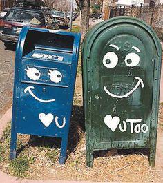 Loving mailboxes