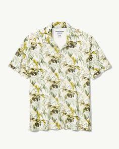 3f4998b62 Don't Leaf Me Now IslandZone® Knit Camp Shirt Me Now, Tommy Bahama