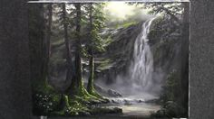 You can learn how to paint this painting! I have an instructional DVD available for it! www.paintwithkevin.com