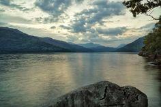 Loch Lomond in Scotland. Midget attack level 10 (FYI Sony a6000sony18-105 3s@F22 ISO 100  edited with snapseed app) ///// #lochlomond #scotland #nationalpark #sony #sonya6000 #sonyglens #snapseed #lake #loch #water #midgetattack #peaceful #landscape #beautiful #sunset #every3secondsadonkeycries #castlesandbeertourv2