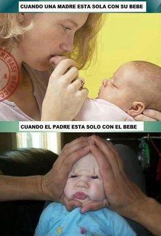 La diferencia entre una madre y un padre.
