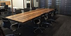 Conference tables | Conference table chairs | Modern conference tables | Urbanwoodgoods.com