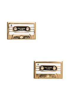jazz things up cassette studs | Kate Spade New York