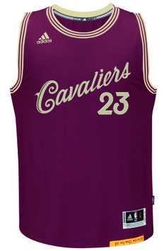 The NBA gears up for the holidays with Christmas Day Adidas jerseys.