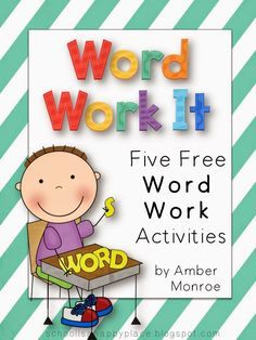 Blog post with 5 freebies for literacy and math!