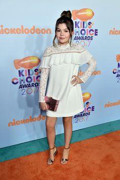 Addison Riecke Photos Photos - Nickelodeon's 2017 Kids' Choice Awards - Red Carpet - Zimbio