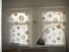 doily curtains by phuongxpham, via Flickr