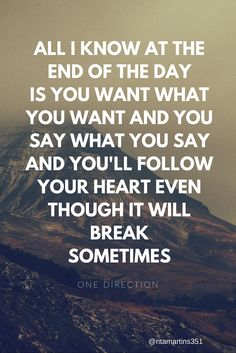One Direction Lyrics - End of the Day, from Made in the AM Album - Such an amazing song!
