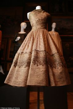 Coco Chanel to Christian Dior couture dresses dating back to 1800 go on display in Australia | Daily Mail Online