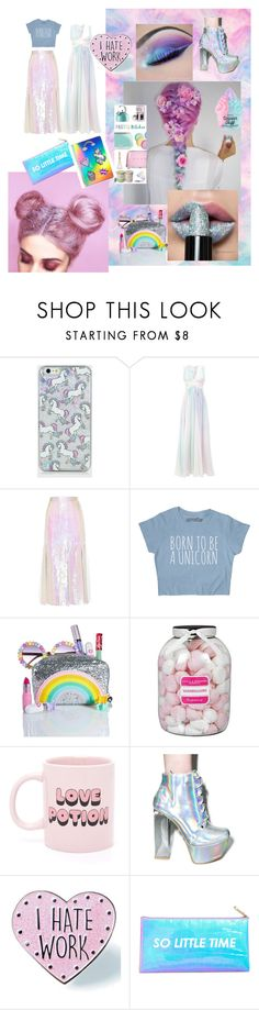 """Unicorn"" by dimont ❤ liked on Polyvore featuring beauty, Zuhair Murad, Christopher Kane, Local Heroes, Farhi by Nicole Farhi, ban.do, Qupid, Skinnydip and Celebrate Shop"