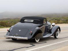 Hispano Suiza K6 Brandone Cabriolet de 1934.
