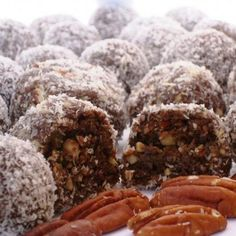 Chocolate Rum Balls - Two words: Oreo. Cookies. Two more: Soak. Overnight.  Serves One, Just Me!