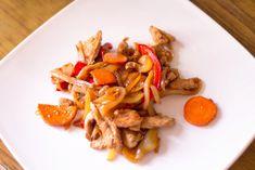 Фото к рецепту: Курица по-китайски с овощами